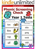 Flash Cards: Phonic Screening Check - Year 1 Tests (Phonic Ebooks: Learn To Read (Learning To Read Flash Cards For Children))