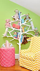 Nurseryworks Tree Bookcase in Snow