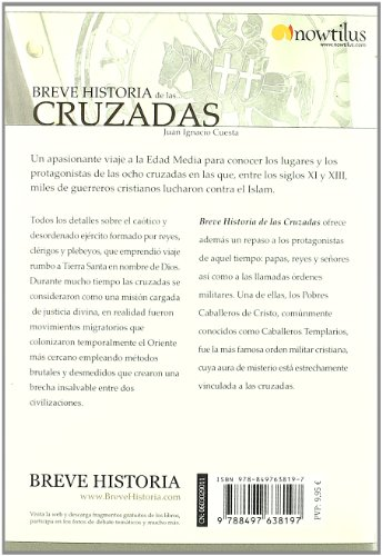 Breve Historia de las Cruzadas (Breve Historia/ Brief History) (Spanish Edition)
