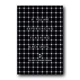 Black Flashing Dots Poster Drinking Problem 33509 ~ Wall Posters