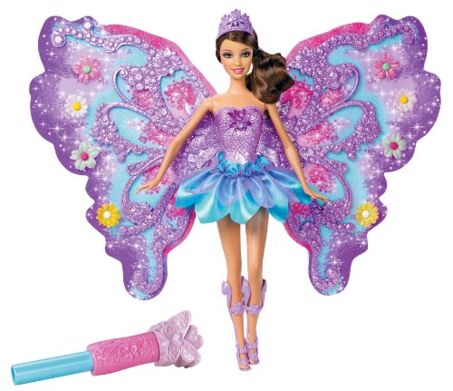 mattel w  barbie	magic of flowers