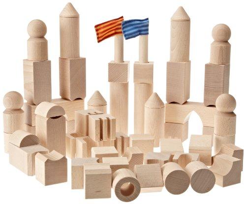 Jeux de construction haba 1072 jouets en bois bloc for Bloc construction bois