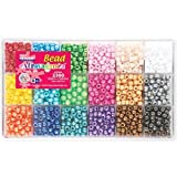 Beadery Giant Bead Box Kit 2300 Beads/Pkg Pearl