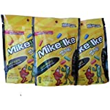 Mike and Ike ZOURS 9.0 ounce (pack of 3 resealable bags = 27 ounces)
