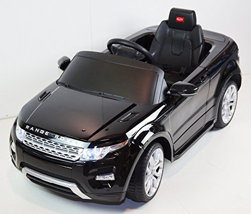 2015 Licensed Range Rover Evoque 12v Kids Ride on Power Wheels Battery Toy Car,Remote control,Lights,Music-Black (Range Rover Baby compare prices)