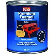 Rust Oleum2207Do it Best Premium Latex Enamel-JAVA BROWN LATEX ENAMEL
