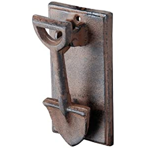 Esschert Design DB55 Cast Iron Spade Doorknocker