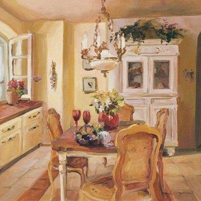 French Kitchen I Finest LAMINATED Print Marilyn Hageman 10x10