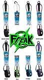 【レギュラー】FREAK フリーク LEASH STANDARD 6' incoreblue リーシュコード サーフィン