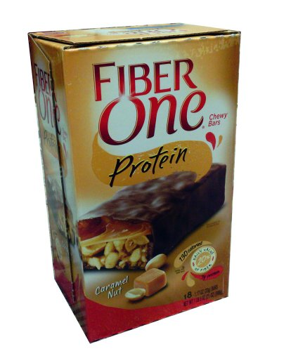 Fiber One Caramel Nut Protein Bar 18 - 1.17 oz bars raw revolution fruit nut and seed superfood bars cranberry almond coconut 1 6 oz bars 12 count