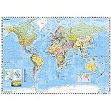 Weltkarte (deutsch)