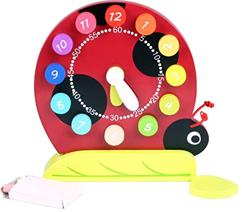 TOPBRIGHT Ladybug Shape Sorting Clock - 1
