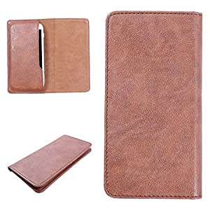 DooDa PU Leather Case Cover For Sony Xperia Z2 (Brown)