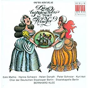 Die lustigen Weiber von Windsor (The Merry Wives of Windsor): Act II: Finale: Wer klopft? (Fluth, Sparlich, Cajus, Reich, Frau Fluth, Falstaff, Frau Reich, The Other Men, The Women)