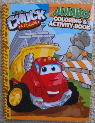 Tonka Chuck and Friends Coloring and Activity Book 64 pages (Set of 2) - 1