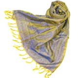 Women Paisley Silk Scarf - Luxurious silk scarves for women - silk pashmina
