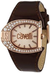 Just Cavalli R7251160505 Women's Logo White Dial Watch