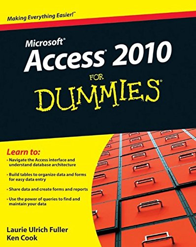 Access 2010 For Dummies (2010 Access Software compare prices)