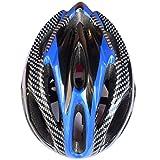 ヘルメット Yumiki 子供用自転車ヘルメット 軽量 頭に優しい 可愛い自転車、スケート用子供ヘルメット (ブルー)