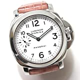 (パネライ)PANERAI PAM00113 ルミノール マリーナ 腕時計 SS/革ベルト メンズ 中古