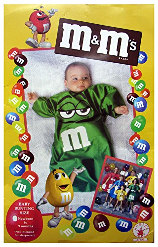M&M Bunting Costume Color: Blue - 1