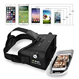Tamo Gear VR Glasses Virtual Reality 3D Headsets VR Box for 4 to 6 inch smartphone