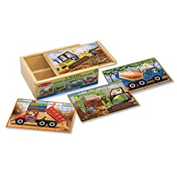 [Best price] Kids&#039 - Melissa & Doug Deluxe Construction in a Box Jigsaw Puzzles - toys-games