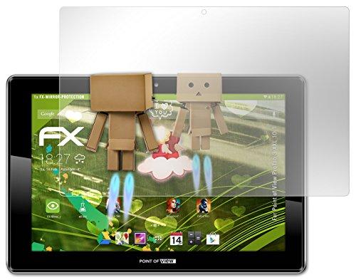 atFoliX Spiegel-Folie Point of View ProTab 3 XXL 10.1 - FX-Mirror mit spiegeleffekt