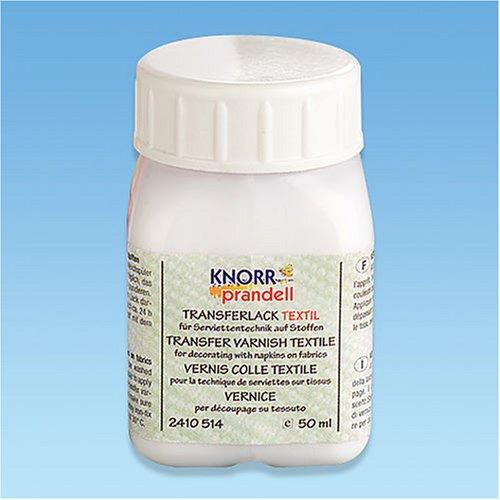 KNORR prandell 1 pièce vernis de Transfert pour textile
