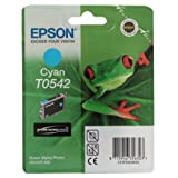 Epson T0542 Cartouche d&#39;encre d&#39;origine cyan pour R800 R800r R1800par Epson