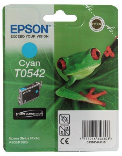 Epson T0542 Tintenpatrone Frosch, Singlepack, cyan