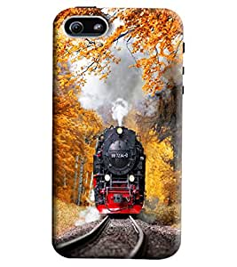 Blue Throat Train Engine Printed Designer Back Cover/Case For Apple iPhone 5s