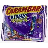 Megapack - 5,2 Kg. Bonbons - CARAMBAR Atomic - Stäbchen 260 g im prickelnden Pulver. Geschmacksrichtung: Himbeere, Zitrone, Pfirsich. 20 x 260 Gr. Super lecker!! Oster-Geschenk!