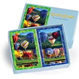 Balloon Bonanza Bridge Size Playing Cards - 2 Deck Set Standard Index