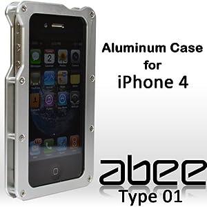 Abee Aluminum Type 01 iPhone Case - Silver