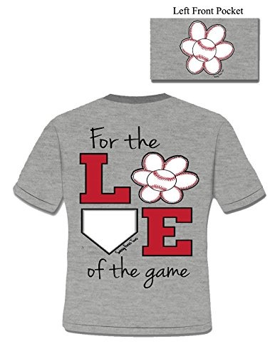 Baseball Love Of The Game - Ladies 3X-Large - T-Shirt