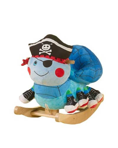 Rockabye Ocho the Pirate Spider Rocker As You See