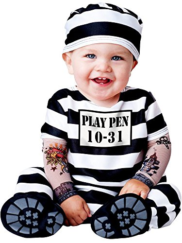 Time Out Costume - Infant Medium (Girl Prisoner Costume)