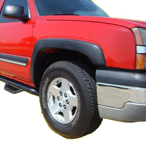 1999-2006 Chevy Silverado GMC Sierra Fender Flares Smooth Finish, Set of 4 (Flares Fender compare prices)