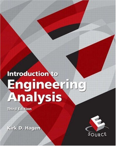Introduction to Engineering Analysis (3rd Edition)