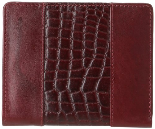 leatherbay-wallet-with-croc-accentsmahagony-maronone-size