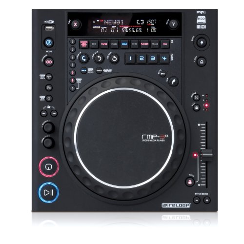 mixeurs dj reloop rmp 3 alpha platine cd usb noir. Black Bedroom Furniture Sets. Home Design Ideas