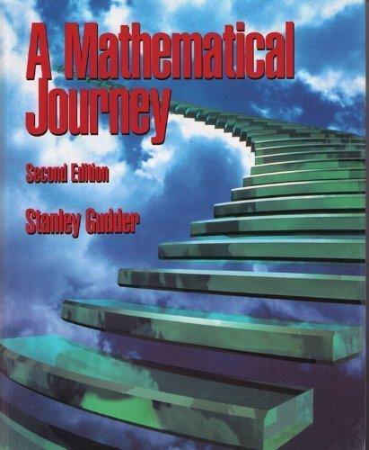 A Mathematical Journey