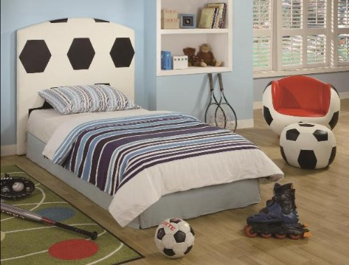 Twin Soccer Headboard
