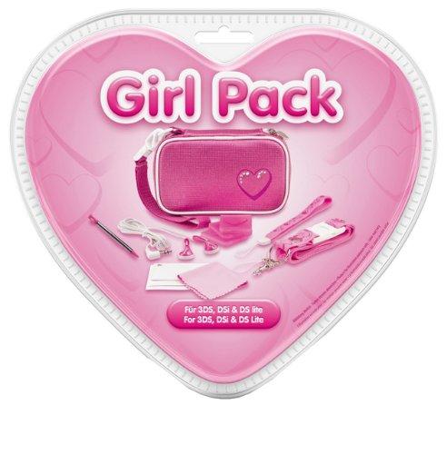 Girl Pack - Zubehörsammlung für Nintendo 3DS - Zubehör Set -  3DS