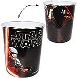 """Papierkorb - """" Star Wars """" - Kunststoff - Mülleimer Eimer - Aufbewahrungsbox für Kinder Jungen - Abfallbehälter"""