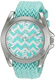 XOXO Women's Quartz Metal and Cloth Casual Watch, Color:Blue (Model: XO3419)