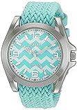 XOXO Women's Quartz Metal and Cloth Casual Watch, Color:Blue (Model: XO3419)