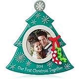Hallmark QGO1173 Our First Christmas Photo - 2014 Christmas Keepsake Ornament