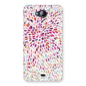 Special Colorful Pattern Print Back Case Cover for Canvas Play Q355